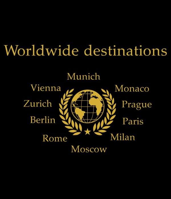 Hier sehen Sie die Reiseziele - Worldwide destinations von Diamond Limousine Service GmbH aus Tirol