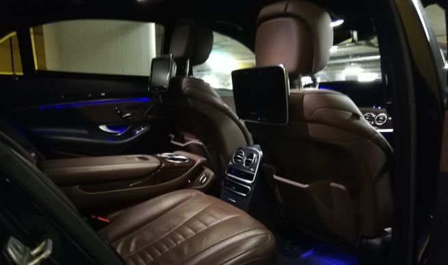 amond Travel Service Tirol - Mercedes S-Class - Interieur