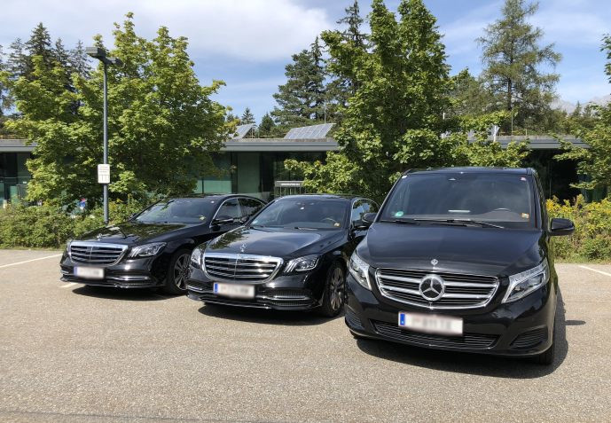 Diamond Travel Service - Our Fleet - Mercedes S-Class and Mercedes V-Class